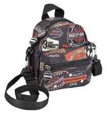 Harley-Davidson Vintage Collection Mini-Me Small Backpack, Black 99668-VIN