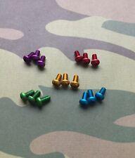 Spyderco Tenacious+Persistence+Resilience Coloured Pocket Clip Screws *CHOICE*
