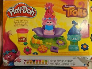 Trolls Press 'N Style Salon Play-Doh Set