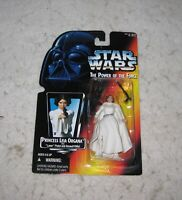 Star Wars Princess Leia Organa Action Figure The Power of the Force Kenner 1995