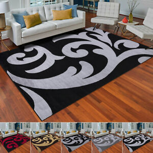 Indoor Large Area Mats Hotel Quality Warmth Feel Rug Runners Floral Pattern