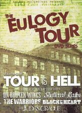 EULOGY TOUR VOL 1 TOUR IS HELL NEW DVD JUDAS CRADLE THE WARRIORS ON BROKEN WINGS