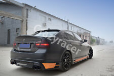 Unpainted Rear Roof Lip Spoiler Wing for BMW E90 Saloon 05-12 HAM Style