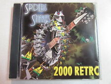 """SPIDERS & SNAKES RETRO 2000 CD GLITTER GLAM DONOVAN """"MELLOW YELLOW"""" COVER OOP"""