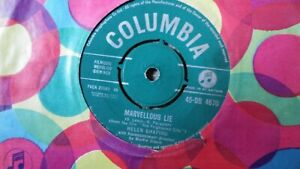 "Helen Shapiro,""Marvellous Lie/You Don't Know"" 7"" vinyl"