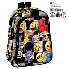 Emoji Sticker Mochila infantil escolar, niño // Children Backpack