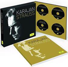 KARAJAN / STRAUSS, Limited Deluxe Edition (11 CDs + Blu-ray Audio + Buch) NEU