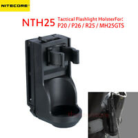 NITECORE NTH25 Tactical Flashlight Holster for P20 P26 R25 MH25GTS 360°Rotatable