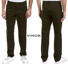 New Vince. Men's Casual Pants M45422248 Ash Black ABK 990 MSRP $195 Sz W30