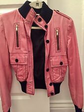 Gucci Leather Jacket, Size 34