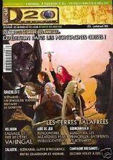 D20  MAGAZINE N°13 JDR DD3 SEIGNEUR DES ANNEAUX