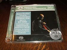 SACD. Dvorak/Bruch/Tchaikovsky; Cello C/Kol Nidrei etc. Starker. STILL SEALED