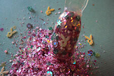 glitter mix nail art acrylic gel   LITTLE BUNNY FOO FOO limited edition 18 made