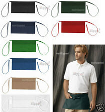"Liberty Bags - 3 Pocket Waist Apron 5501 20"" x 10"" Waiter Waitress Restaurant"