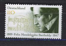 ALEMANIA/RFA WEST GERMANY 1997 MNH SC.1980 Felix Mendelssohn,composer
