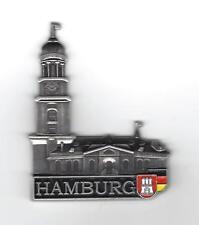 Magnet HAMBURG Michel Kirche Pinwand NEU Kühlschrankmagnet Metall Souvenir Hafen