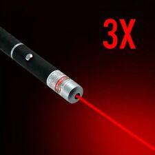 3 x PREMIUM LASER POINTER Red Green Blue 1mW Colour HIGH Power Beam Pen Cat Toy