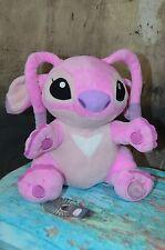 """Lilo & Stitch 10"""" PINK ANGEL Plush Toy Doll Disney Store W7"""