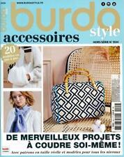 Burda Style accessoires HS N°99