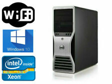 Dell Precision T3500 Xeon 3.06Ghz X5675 6cores 12Gb 100Gb Ssd +1Tb Wifi Win10