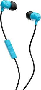 Skullcandy Jib In-Ear Noise-Isolating Earbuds with Microphone and Remote - Blue