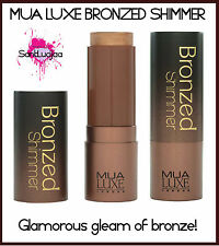 MUA LUXE BRONZED SHIMMER BODY FACE GLOW CREAMY STICK CONTOURING CONTOUR BROWN