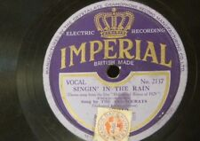 78rpm IRVING KAUFMANN your mother and mine / THE ARISTOCRATS singin in the rain