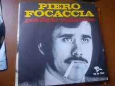 """7"""" PIERO FOCACCIA PORFIRIO VILLAROSA TERESA NON SPARARE (BUSCAGLIONE) EX+/EX+++"""