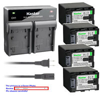 Kastar Battery Rapid Charger for JVC BNVG138 JVC Everio GZ-HM880 Everio GZ-HM890