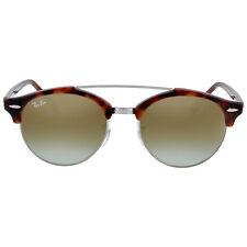 Ray Ban Clubround Double Bridge Tortoise Sunglasses