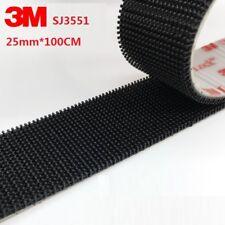 1M x 25mm 3M Dual Lock Fastener SJ3550 SJ3551 With Self Adhesive Stick Tape UK