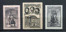 28126) RUSSIA 1957 MNH** Nuovi** Academy of Arts 3v