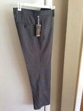 NWT Haggar H26 Dark Grey Straight Fit, Flat Front, Dress Pants, Size 30x30