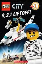 LEGO City: 3, 2, 1, Liftoff! (Level 1), Sander, Sonia, Scholastic, Good Book