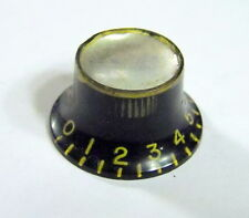 1960s Gibson Epiphone Reflector Top Hat Knob fr Tal Farlow & Amplifiers No Label
