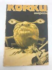 HORROR MAGAZINE #104 - 1960s 60s - Foreign Comic Book - MEGA RARE - 4.5 VG+
