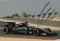 Nico Hulkenberg Hand Signed 12x8 Photo 2015 Sahara Force India F1 10.