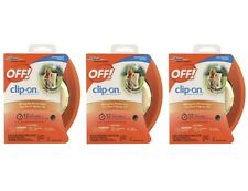 NEW OFF! Clip On Mosquito Repellent QTY 3