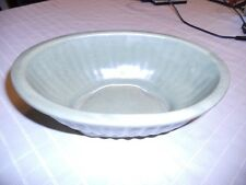 Haeger Green 3938A U.S.A. Vintage Pottery Glassware - Planter Bowl