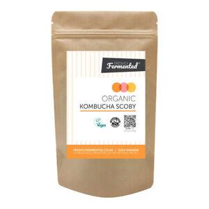 Organic & Vegan Certified Kombucha SCOBY (UKAS Lab Tested)