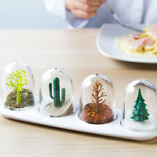 Qualy Four Seasons Salt Pepper Spice Shakers Nature fun kitchen table