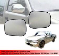 Side Mirror Glass Lens For Isuzu TFR/Vauxhall Brava/Holden Rodeo Pickup 98 - 02