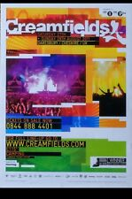 """*POSTER* CREAMFIELDS 2011 HOUSE DANCE MUSIC FESTIVAL POSTER ROLLED 16.5"""" x 12"""""""