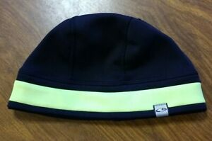 BLACK WITH GREEN STRIPE & LOGO CAP HAT ONE SIZE