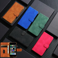 For Apple iPod Touch 5 6 7th Generation Flip Leather Wallet Card Slot Case Cover