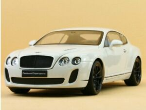 BENTLEY Continental Supersports - white - WELLY 1:18