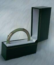 "48 green necklace// jewellery boxes PU 9/"" new wholesale job lot vat inclusive"