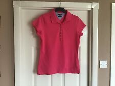 Women's Tommy Hilfiger Polo Shirt Size Large