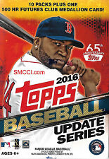 2016 Topps Traded Update Baseball Series Sealed Box Exclusive Home Run Medallion