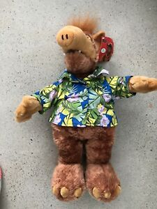 """ALF 17"""" Plush Doll TV Show Nanco 2002 Hawaiian Shirt"""